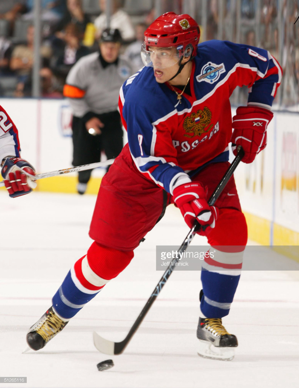 best loved f9ae8 94ff7 Alexander Ovechkin - Team Russia World Cup of Hockey 2004 ...